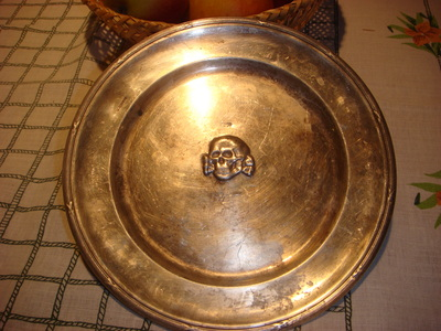 Ss schreibtischdecko and plate