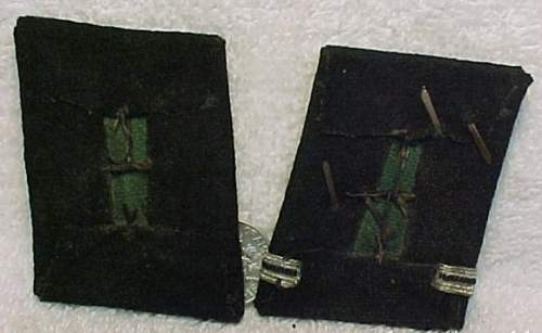Waffen SS collar tabs