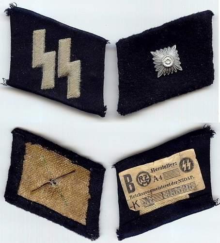 SS EM/NCO Collar tabs opinion