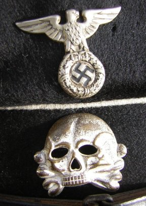 Black cap, Husaren Totenschaedel.