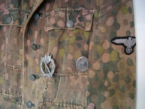 Waffen SS Combat Camo tunic