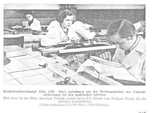 Sanitaetsabteilung der SSVT  and an unknown woman  Then and Now.