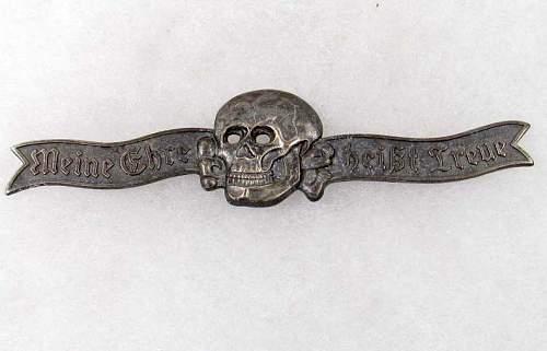 SS skull breast badge... real or fake?