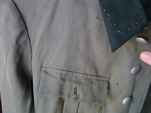 Waffen SS salty officer tunic opinion