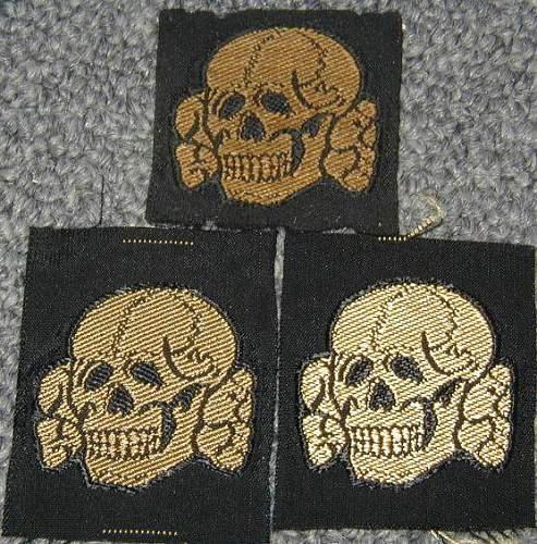 SS bevo skulls