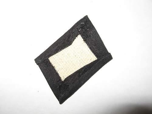 SS Enlisted Collar Tab Dachau made