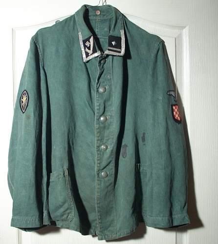 SS Handschar tunic