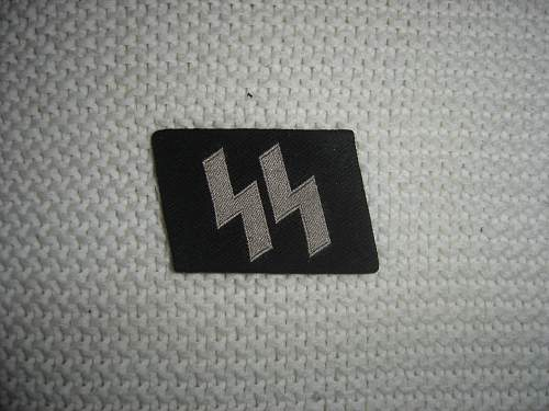 SS Collar Tabs real or fake???