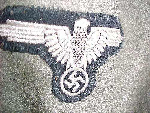 Need opinions on Feldgrau SS Panzer jacke