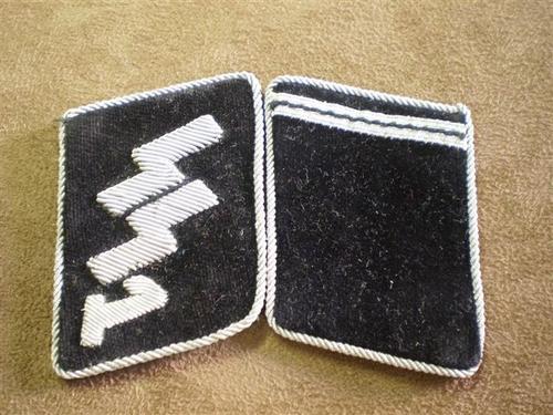 SS Collar Tabs - Fake?