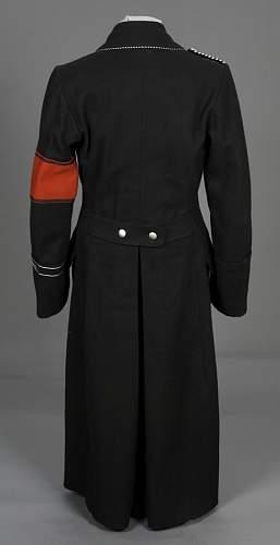 Thueringen I.Stuba, 4 Hundertschaft overcoat