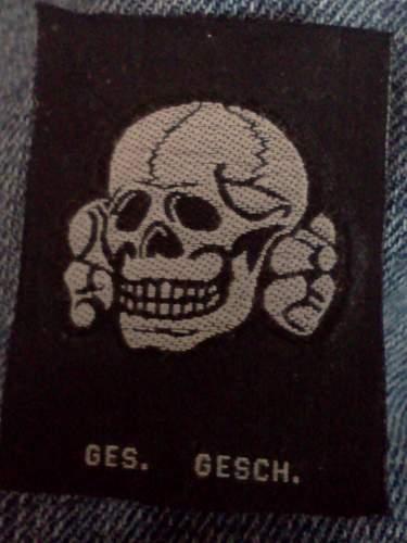 Bevo Totenkopf .....................99% sure fake.