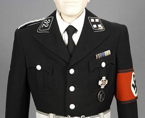 Allgemeine-SS 58 Standarte collar tab
