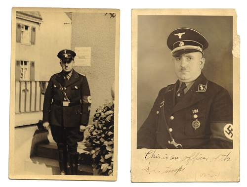Is there any way to ID an SS Officer?