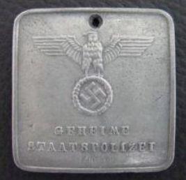 SS Auschwitz disc. Is it real?  Heimwher Danzig Kradshtz Nr  24313 ausweis