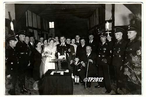 Stammabteilung Sued wedding scence.