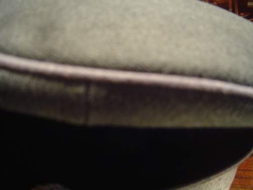 Click image for larger version.  Name:Visor hat for  Officer on the Staff of the Reichsfuhrer SS 004.jpg Views:59 Size:126.0 KB ID:32918
