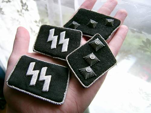 New Waffen SS Officer tabs