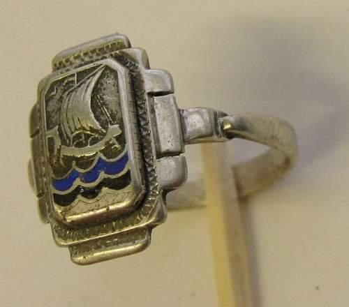 Estonian SS ring