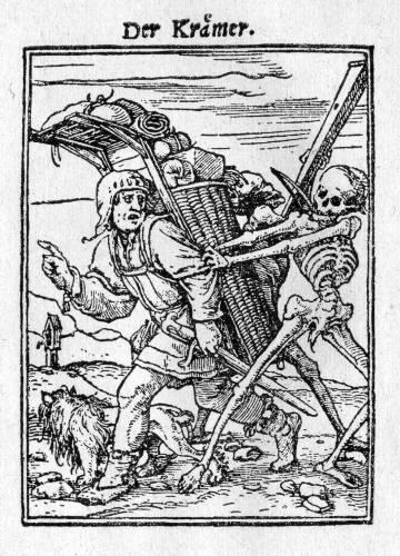 Name:  holbei Der Kr�mer, aus Ein Totentanz geschnitten von Hans L�tzelberger um 1525.jpg Views: 220 Size:  56.4 KB