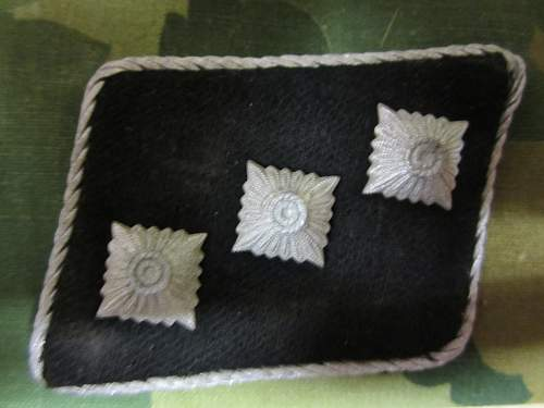 SS Horst Wessel Collar Tabs