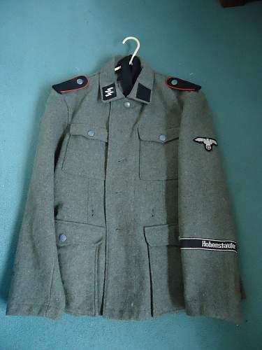 Hohenstaufen uniform