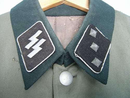 Waffen SS Officer collar tabs favorite