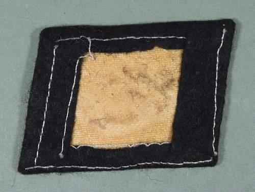 Totenkopf collar tabs