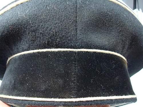 SS visor cap.Orginal ?