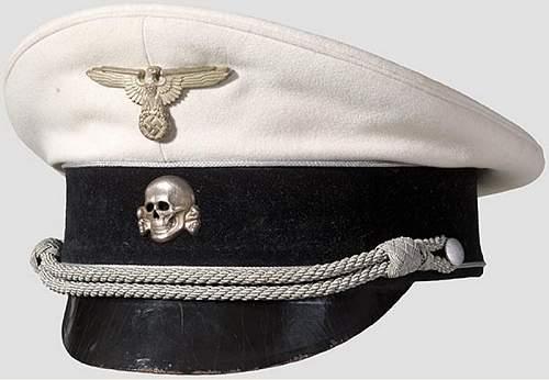 Generals White Top Visor