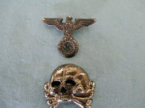 Early SS Skull and Eagle and sleeve Eagle