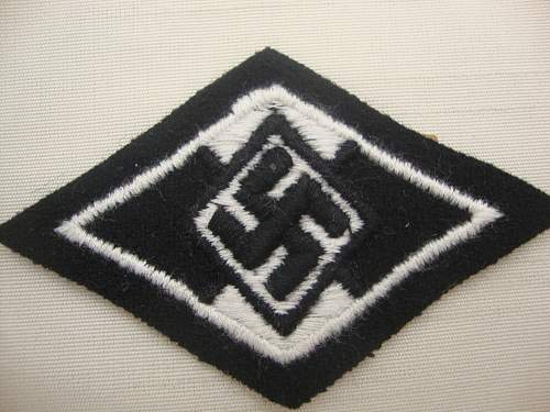 SS sleeve diamond for former HJ members