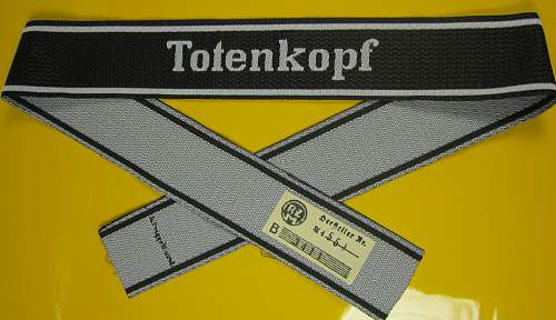 Totenkopf Cuff Title for 0