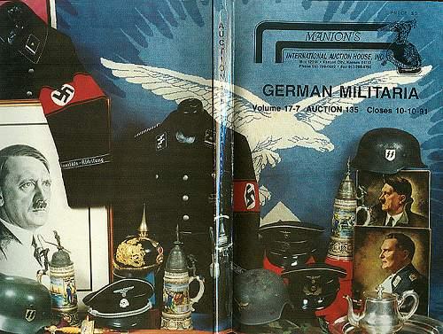 SS regalia ca. 1978