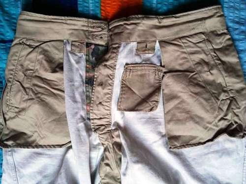 Leibermuster trousers