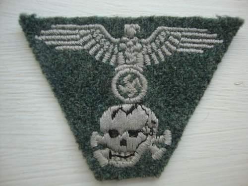 SS green wool M43 Trapezoid