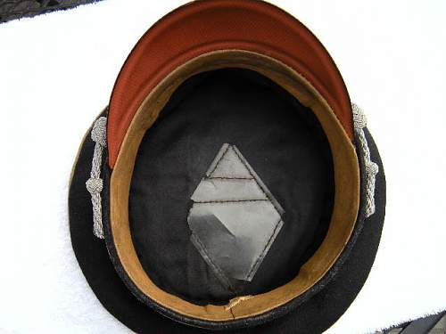 early SS cap oddity and or fraud