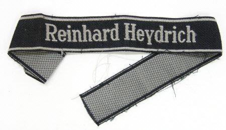Reinhard Heydrich cuff title?