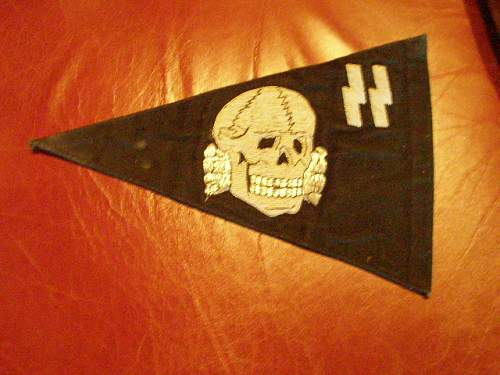 is this small ss flag genuine?