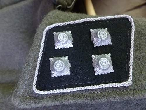 German SS 3rd Panzer Division M36 Tunic... Thoughts? Value?