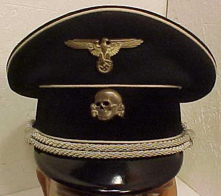 Black Sonderanfertigung cap from the mad house site.