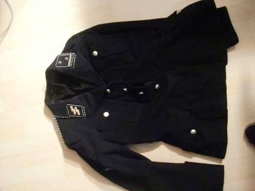 Allg SS tunic offered to  me