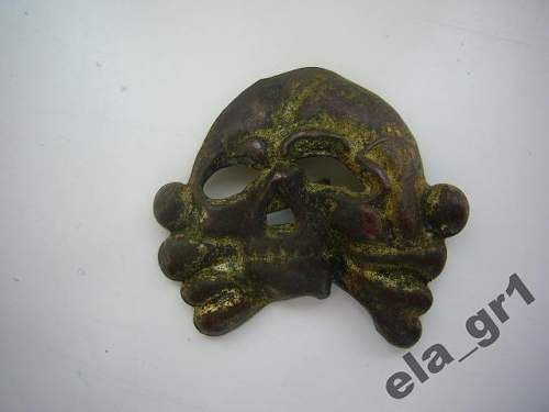 Algemaine SS skull.False or orginal?