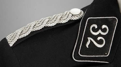 Waffen SS officer tunic