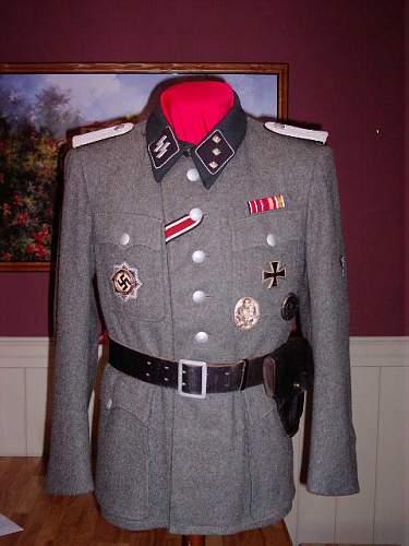 One of my former tunics...