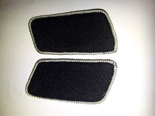 SS collar tabs found on Flea market