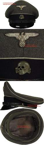 Grey SS cap with Whammond.