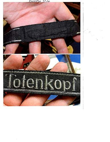 Totenfopf cuff title for review