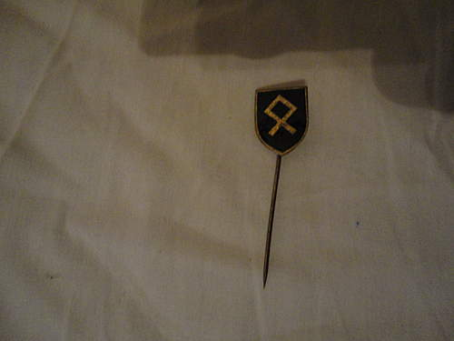 stickpin, would like to know from what SS division this is