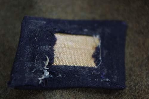 SS Totenkopf collar tab